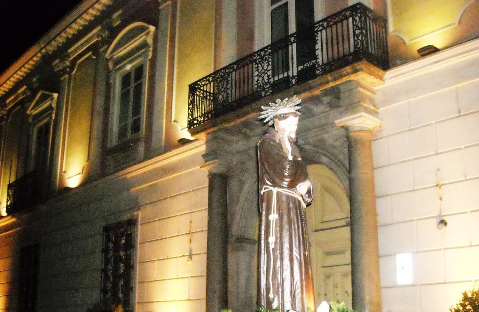 2009 - Marcianise -Processione di San Francesco  in occasione dell'800 Anniversario dell'approvazione della Regola Francescana (foto Donato Musone)